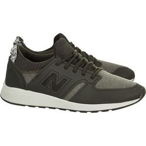 New Balance 420 Olive Green Slip On Sneakers